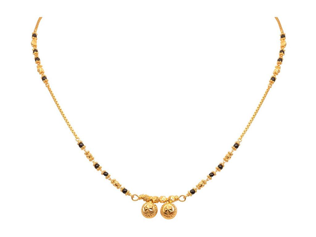 Dawli Design Traditional Gold Mangalsutra Mahendra Jewellers