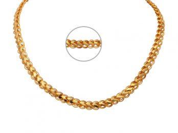 Clip Curb Link Gold Chain