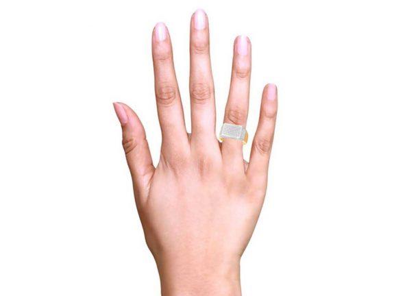 Pave Set CZ Mens Ring