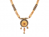 Multilayer Traditional Gold Balls Mangal Sutra