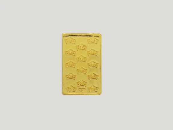 24KT GOLD BISCUIT